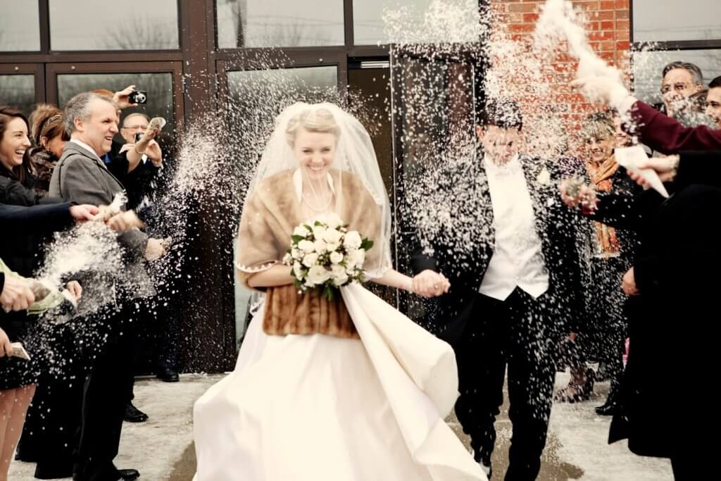 Capture magical photos with our water soluble confetti.