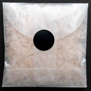 Let us make envelopes of non-toxic confetti for you, sealed with Matte Black